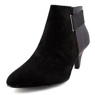 Alfani Womens Vandela Leather Closed Toe Ankle Platform Boots (2 options available)