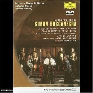 G. Verdi - Simon Boccanegra-Comp Opera [DVD]