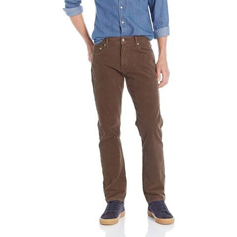 Lucky Brand Men's 221 Original Straight Jean, Demitasse, 36X30