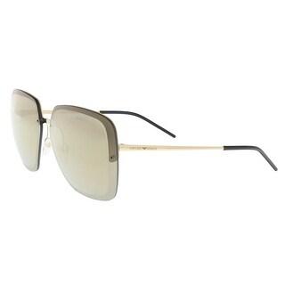 Emporio Armani EA2045 31245A Gold Square Sunglasses - 62-12-140