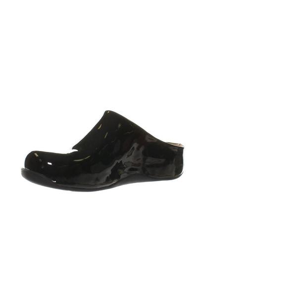 Shop FitFlop Womens Shuv Patent Black