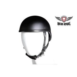 Flat Black Gladiator Novelty Motorcycle Helmet - Size - M