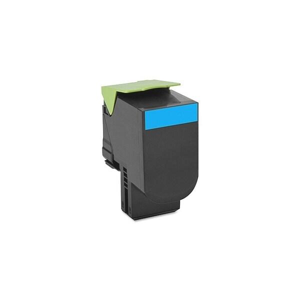 Lexmark 70C0H20 Lexmark 700H2 Cyan High Yield Toner Cartridge - Cyan - Laser - 3000 Page - OEM