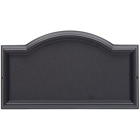 Whitehall Design-It 4 Arch Plaque (Black)
