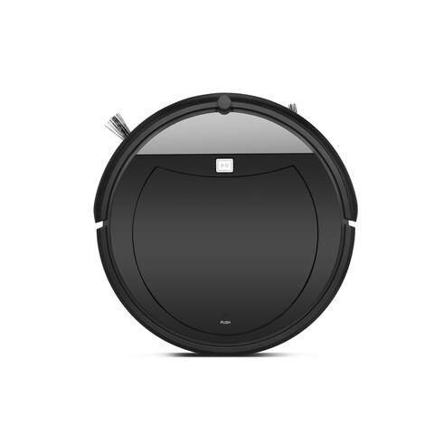 TechComm BV01 Robot Vacuum Cleaner for Sweeping and Vacuuming with Remote Control - Black