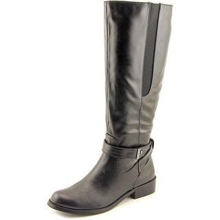 Alfani Jurissa Wide calf Women Pointed Toe Synthetic Knee High Boot