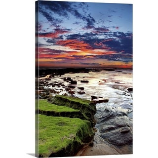 """""""New Day, New South Wales, Australia"""" Canvas Wall Art"""