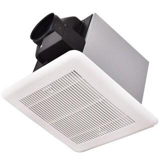Gymax Bathroom Exhaust Fan Ceiling Wall Mounted Air Ventilation 50 Cfm