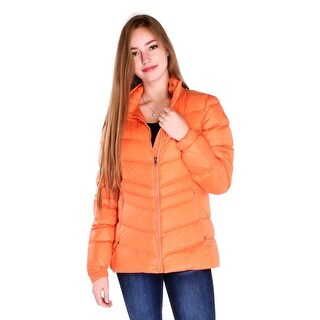 Pajar Renee Ladies Lightweight Down Jacket in Soft Orange