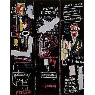 Horn Players, 1983, Jean-Michel Basquiat