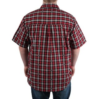 Case IH Men's Short Sleeve Plaid Shirt (3 options available)