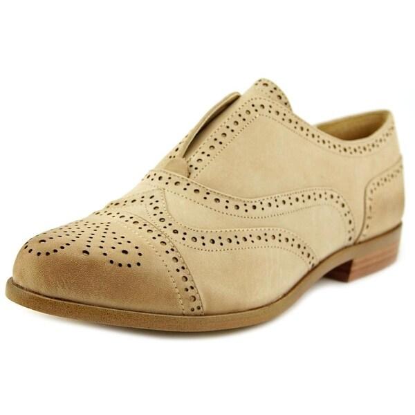 Splendid Tobey Women Cap Toe Leather Tan Loafer