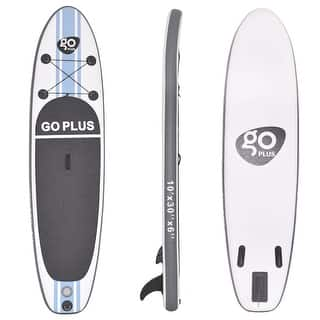 Goplus 10' Inflatable Stand Up Paddle Board SUP w/ 3 Fins Adjustable Paddle Backpack|https://ak1.ostkcdn.com/images/products/is/images/direct/f17abfcf16f4e6115cc48da59ae1c8e6ea623408/Goplus-10%27-Inflatable-Stand-Up-Paddle-Board-w--3-Fins-Adjustable-Paddle-Backpack.jpg?impolicy=medium