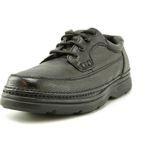 Nunn Bush Cameron Men W Round Toe Leather Black Walking Shoe