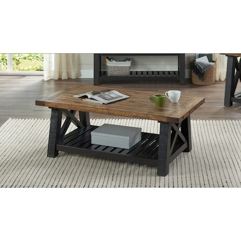 "Martin Svensson Home Bolton 50"" Solid Wood Coffee Table"