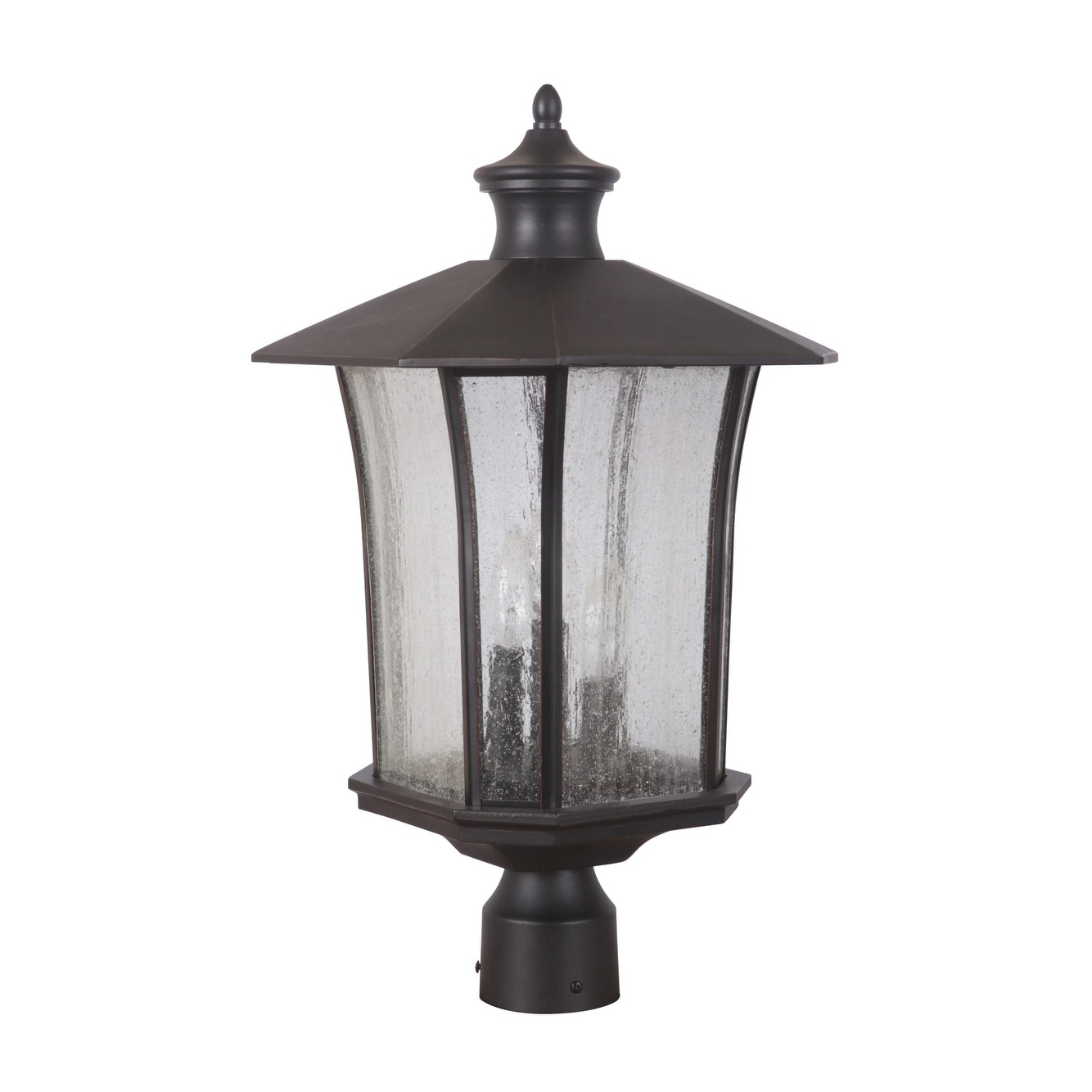 Shop Craftmade Z7725 Chateau 3 Light Outdoor Post Light Post Not Included 11 5 Wide Overstock 13055065