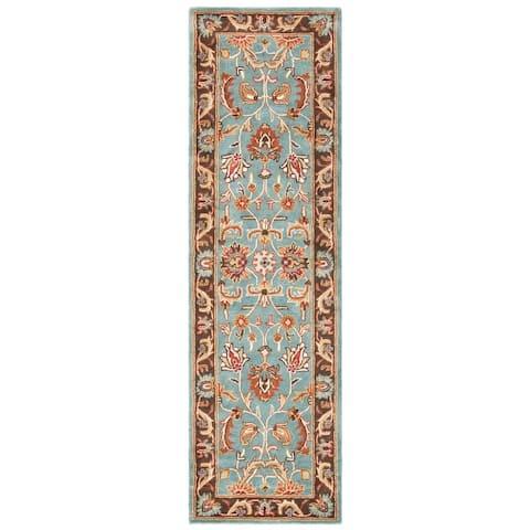 SAFAVIEH Handmade Heritage Loren Traditional Oriental Wool Rug