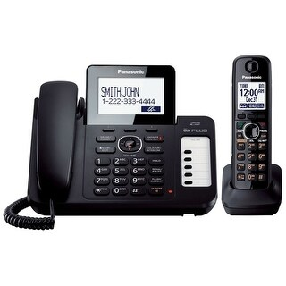 Panasonic KX-TG572SK DECT 6.0 Corded/ Cordless Phone System (Refurbished)