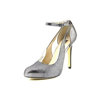 INC International Concepts Lucy Round Toe Leather Heels