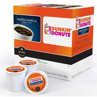 Keurig 118793 Dunkin' Donuts French Vanilla K-Cup, 16 count