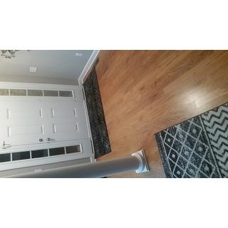 "Safavieh Adirondack Maisie Vintage Boho Black/ Silver Rug - 2'6"" x 6' Runner"