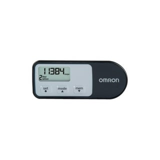 Omron healthcare hj-321 hip pedometer with holder