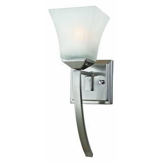 Design House 514786 Torino Wall Mount Light Fixture, Satin Nickel
