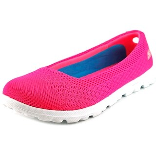 Skechers On The Go-Ritz Women Round Toe Canvas Flats