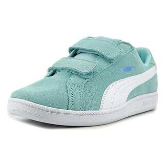 Puma Smash Fun Sd V Ps Youth Synthetic Blue Fashion Sneakers