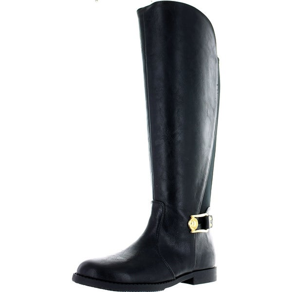 Ivanka Trump Girls Designer Fashion Riding Boots - Black