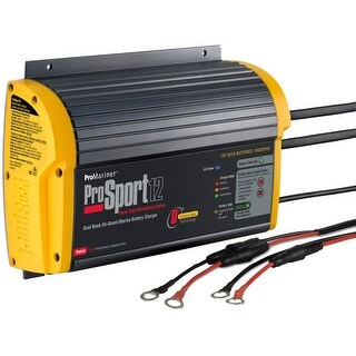 ProMariner ProSport 12 Amp Charger On-Board Marine Battery Charger