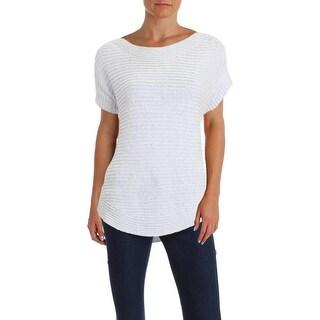 Lauren Ralph Lauren Womens Pullover Sweater Knit Boatneck - L