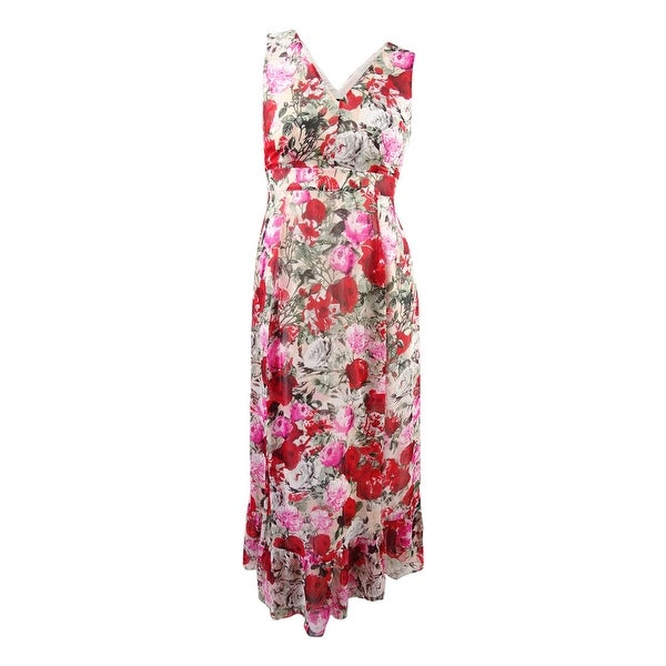 c98da0a9e88 Shop INC International Concepts Women s Floral-Print Maxi Dress - Floral  Bouquet - Free Shipping Today - Overstock - 23624413