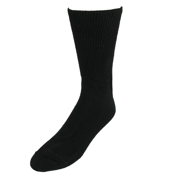 Extra Wide Sock Co. Men's Big & Tall Cotton Medical Support Socks