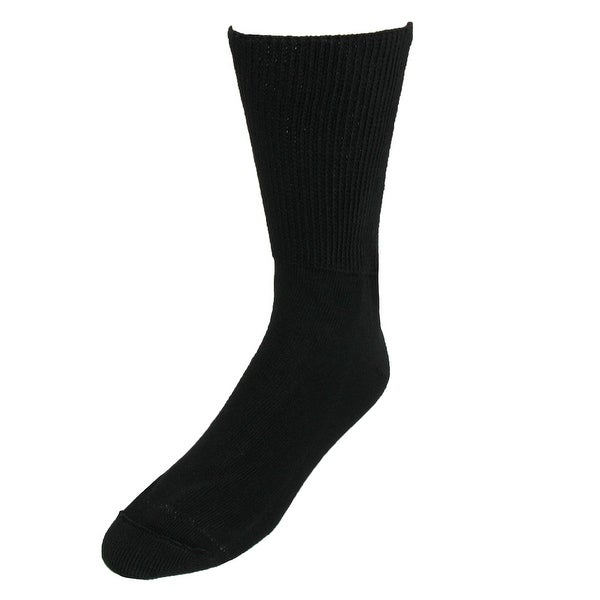 Extra Wide Sock Co. Men's Big and Tall Medical Support Socks (3 Pair Pack)