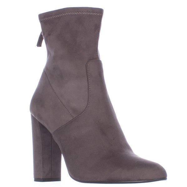 Steve Madden Brisk Stretch Ankle Booties, Grey