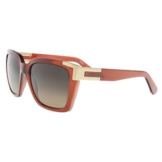 Chloe CE632S 223 Brick Modified Rectangle Sunglasses - 56-18-135
