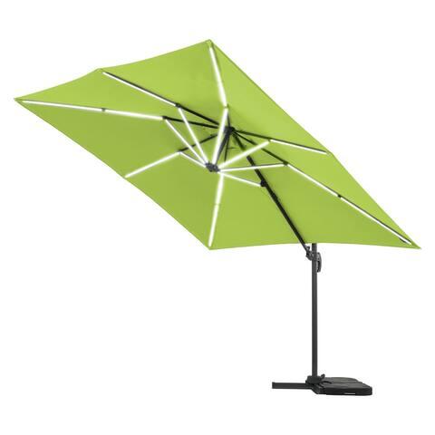 10 x 10 Patio Roman Umbrella w/ LED light
