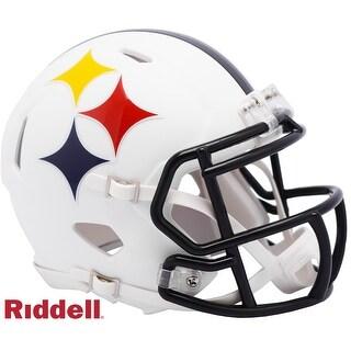 Pittsburgh Steelers AMP Alternate Series Riddell Speed Mini Football Helmet