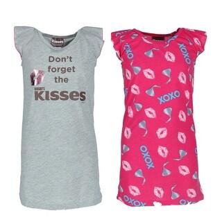 Hersheys Kisses Girl's 2 Pack Hershey's Kisses Night Gowns