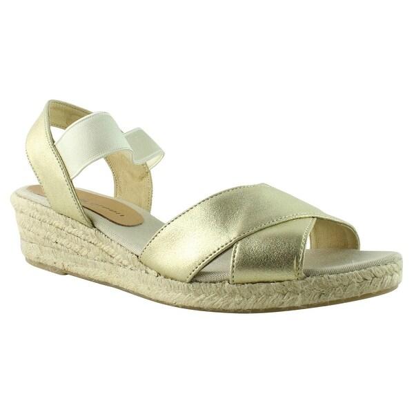 eecf8e4fbbfb Shop Patricia Green Womens GoldMetallic Espadrille Sandals Size 11 ...