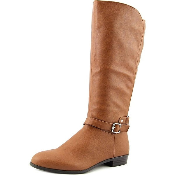Style & Co. Womens FAEE Round Toe Mid-Calf Riding Boots