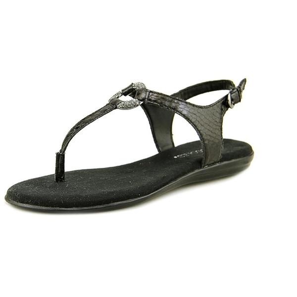 Aerosoles Chlass Ring Women Black Snake Sandals
