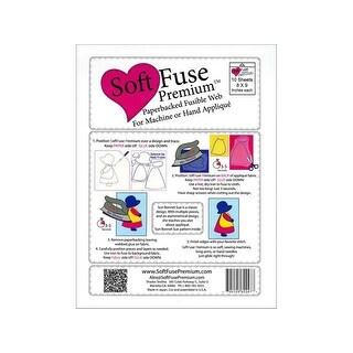 """Shades Textiles Soft Fuse Premium 8x9"""" Pkg 10pc"""