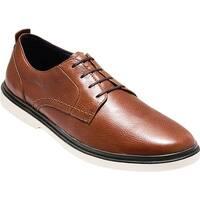 Cole Haan Men's Brandt Plain Toe Oxford Woodbury Leather/Ivory