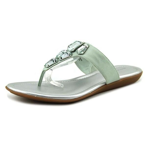 Bandolino Jesane   Open Toe Synthetic  Thong Sandal