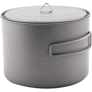 TOAKS Titanium 1600ml Pot - POT-1600 - Outdoor Camping Cup Bowl
