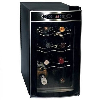 Koolatron WC08 8 Bottle Free Standing Single Zone Wine Cooler