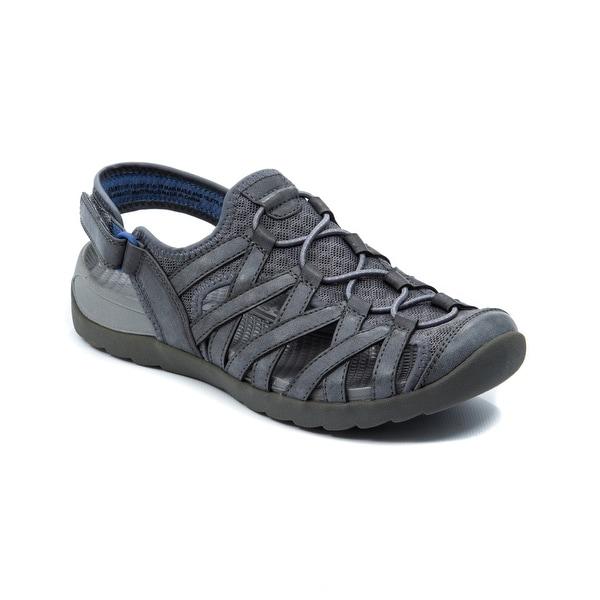Bare Traps Womens Frenzie Fabric Closed Toe Casual Sport Sandals