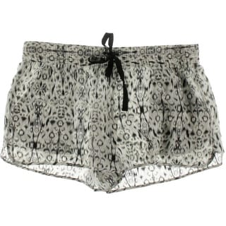 Joie Womens Layana Silk Printed Casual Shorts - L